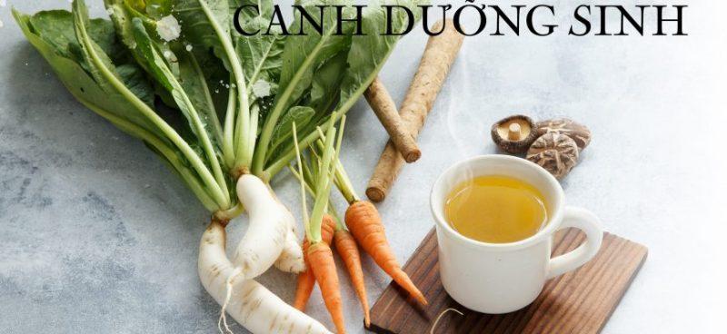Canh dưỡng sinh – Thứ thức uống tốt nhất?
